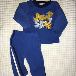 teddyboom Matching Sets - 6/9 mos sweatshirt and sweatpants
